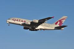 QR0010 LHR-DOH (A380spotter) Tags: takeoff departure climb climbout gearinmotion gim airbus a380 800 msn0145 a7apc  alkharrara qatar  qatarairways qtr qr qr0010 lhrdoh runway27l 27l london heathrow egll lhr