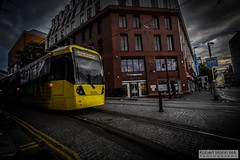 ManchesterVictoria2016.10.09-18 (Robert Mann MA Photography) Tags: manchester manchestervictoria manchestercitycentre greatermanchester england victoria victoriastation manchestervictoriastation manchestervictoriarailstation victoriarailstation city cities citycentre architecture summer 2016 sunday 9thoctober2016 manchestermetrolink metrolink trams tram nightscape nightscapes night light lighttrails