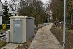 P2460460 (Lumixfan68) Tags: eisenbahn schwentinebahn bahnhaltepunkte haltepunkte bahnhöfe hein schönberg baustellen