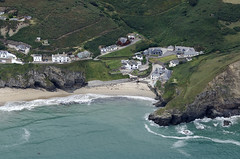Portreath in Cornwall - aerial image (John D F) Tags: portreath cornwall coast aerial aerialphotography aerialimage aerialphotograph aerialimagesuk aerialview droneview