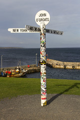 John O'Groats (Kev Gregory (General)) Tags: top british mainland john ogroats north scottish coast village canisby parish caithness far scotland britains northeastern tip popular tourists end longest distance between two inhabited points lands cornwall lying 876 miles southwest quite most northerly point island britain nearby dunnet head is further