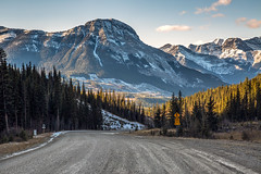 Gravel Mountain Roads (CooT46) Tags: 5dm3 5dmarkiii 5d3 canon5d3 canon5dm3 canon5dmarkiii canada canon canoncanada canadian canonef24mm70mmf28 ef24105f4l ef24105mmf4l alberta rockymountain rockies rockymountains mountain gravel outdoor beautiful scenic landscape highway68 kananaskis countryside countryroad ohcanada peak ridge mountainside road mountainpeak