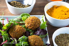 Falafels (PicciaNeri) Tags: middleeast chef chickpeas condiment coriander cuisine delicacy delicatessen dish eat eaves falafel food fresh freshness fried gourmet greens healthy herb hoummus hummus ingredient lettuce middleeastern natural nutrition oil olives organic oriental salad scent seasoning snack spice spicy thyme turmeric vegan vegetarian