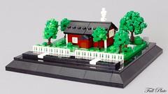 Quintessentially Swedish (1 of 5) (Emil Lid) Tags: lego moc micro micropolis cottage tree swebrick quintessentially swedish contest