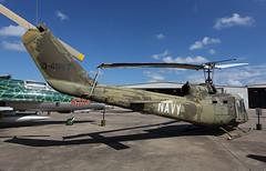 62-4567 Bell UH-1B Seawolf (corkspotter / Paul Daly) Tags: 1962 bell uh1b iroquois cn 627 cavanaugh flight museum kads ads vietnam war heli huey seawolf