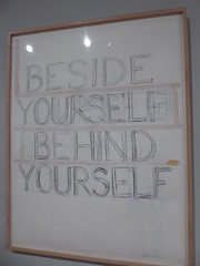 Bruce Nauman - Besides/Yourself/Behind/Yourself (c_nilsen) Tags: brucenauman sanfrancisco california digital digitalphoto sanfranciscomuseumofmodernart museum art