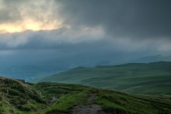 Looking out (21mapple) Tags: mamtor mam tor peaceful peakdistrict peak district nationaltrust nt national trust green grey grass sky blue sunrise outdoors outdoor outside out