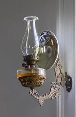 Oil Lamp (a56jewell) Tags: a56jewell lamp oil oillamp brass light oct fall stthomas doorsopen
