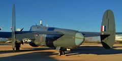 RN/RAF Avro Shackleton AEW.2 patrol bomber, 1953 - Pima Air & Space Museum, Tucson, Arizona (edk7) Tags: nikond3200 edk7 2013 usa arizona tucson arizonaaerospacefoundation pimaairspacemuseum royalairforce raf avroshackletonaew2 avro696shackletonaew2 cnr3696239009 1953 royalnavywl790 n790wl longrange maritimepatrol airborneearlywarning fourengine plane airplane aviation aircraft military coldwar rollsroycegriffonmk58liquidcooled37litre60degreev122450hp