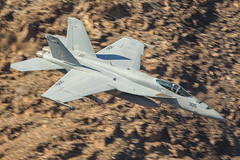 Warhawks low level (Nick Collins Photography, Thanks for 2.1 million v) Tags: warhawk vfa97 aircraft aviation flying military rainbow canyon canon 7dmk2 500mm fa18e super hornet california usa usn nas lemoore boeing jedi transition sidewinder