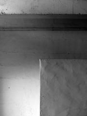 (MAGGY L) Tags: dmcfz200 bw noiretblanc mur abstrait gomtrique