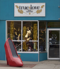 True Love shoes and Accessories (uptownguydenver) Tags: denver colorado denverbuildings architecture architectural structures building edifice edifices commercialbuilding skyscraper environment ecology ecosystem environmentalism scenery morninglight captureone nikon storefronts trueloveshoes usa