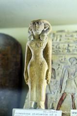 Statuette of a Woman (konde) Tags: petriemuseum statuette middlekingdom limestone hathor ancientegypt