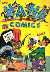 Ha Ha 37 (Michael Vance1) Tags: art artist anthology funnyanimals fantasy funny humor comics comicbooks cartoonist goldenage