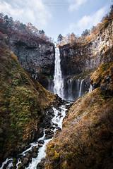 Kegon Falls (Charl||e.) Tags: kegon falls nikko nikkon d610 20mm autumn japan