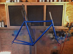 Shem's Lugged Road (Capricorn Bicycles) Tags: handmade custom steel bike bicycle frame lugged lugs house kolor paint retro paragon machine works road