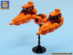 BESPIN CLOUD CAR (baronsat) Tags: bespin cloud car city lego custom moc model esb star wars