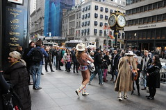 Naked Cowboy for Trump (picturetakingone) Tags: cowboy cow boy naked trump campaign trumptower tower new york newyork election 2016 republican candidate win victory