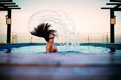 Splashy Mohawk! (luchador_lb) Tags: portrait travel mexico canon sigma water pool bocadelro veracruz mxico