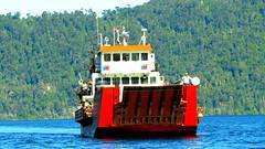 Pirihueico Lake Ferry, Puerto Fuy