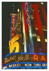 Radio City (Joe Geronimo) Tags: fuji manhattan christmas newyork radiocitymusichall rockettes film camera kodak kodachrome holiday travel canon broadway timessquare newyear