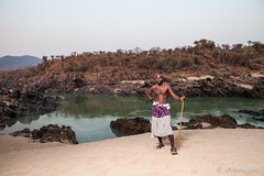 Kunene River 4041 (Ursula in Aus) Tags: africa namibia portrait himba male