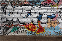 Crept (Alex Ellison) Tags: crept cbm westlondon urban graffiti graff boobs