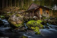 Water Mill (Nedko Nedkov) Tags: landscape waterfall water mill salzach austria nature