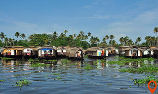Private day trip to Alleppey backwaters Houseboat Tour with Transfer