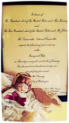 Long ago (Globetoppers) Tags: christmas past jfk invite inauguration angel decorations home dada