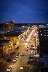 Downtown Columbia Missouri (Notley) Tags: downtown theroof missouri columbia columbiamissouri notley notleyhawkins 10thavenue httpwwwnotleyhawkinscom missouriphotography notleyhawkinsphotography boonebounty bocomo boonecountymissouri bluehour thebluehour architecture longexposure night nocturne evening sunset 2016 fall november city outdoor