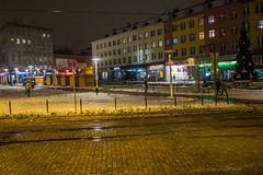 Zabrze (nightmareck) Tags: zabrze lskie grnylsk silesia polska poland europa europe winter zima fotografianocna bezstatywu night handheld fujifilm fuji xe1 apsc xtrans xmount mirrorless bezlusterkowiec xf18mm xf18mmf20r fujinon pancakelens
