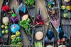 Colors of Life (Prayudi Hartono) Tags: lokbaintan kalimantanselatan southkalimantan southborneo banjarmasin floatingmarket floating boat traditionalboat traditionalmarket woodenboat colorsoflife fruits vegetables