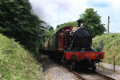 5521/L.150 Avon Valley Railway (intercityexpress125) Tags: gwr greatwesternrailway l150 prairie london transport 5521 avon valley railway meadow court crossing steam engine
