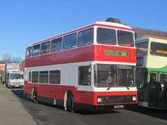 MP Travel K573RRH Museum of Transport, Manchester on 56A (1280x960) (dearingbuspix) Tags: eastyorkshire eyms 573 preserved k573rrh manchesterchristmascracker manchesterchristmascracker2016 mptravel museumoftransportgreatermanchester museumoftransport