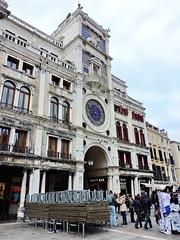 St. Mark's Clocktower (Torre dell'orologio), Piazza San Marco, Venice