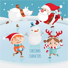free vector Happy Merry Christmas Characters Collection (cgvector) Tags: boy cartoon celebration character child childish christmas clause collection cute december decoration deer element elf gnome happy hat holiday icon illustration isolated merry noel reindeer saint santa season seasonal set smiling snow snowflake snowman stylized symbol traditional web winter xmas