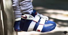 "Nike Lebron 20-5-5 ""Olympic"" (TooLegit4Kicks) Tags: canon photography sneakers nike olympic nba t3i lebron 135thstreetstnicholasave"