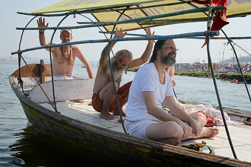 "The ""white sadhus"" - Maha Kumbh Mela"