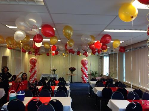 Heliumballonnen Ballonnenplafond