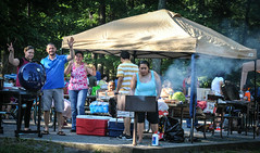 happy picnickers (AccessDNR) Tags: statepark picnic 4thofjuly greenbrier accessdnr