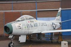 North American F-86F Sabre 52-5385 (Clemens Vasters) Tags: sabre daf f86 northamerican soesterberg naa militaireluchtvaartmuseum