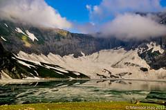 Ratti Gali Lake, AJK (Irresistible!) Tags: pakistan lake snow mountains ice beauty by trekking landscapes frozen melting heaven captured kashmir copyrights gali ajk mansoor irresistible azad ratti haq 2013 dowarian