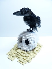 The Raven (Dodge...) Tags: sculpture tv lego sl