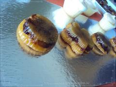 ميني تارت التفاح (Jawaher Oum Ibrahim) Tags: حلويات تارت ميني رمضانية تارت، التفاح، الكاراميل،