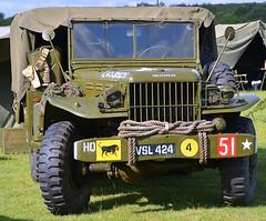 VSL 424 Dodge 4x4 (colinfpickett) Tags: army war 4x4 ww2 dodge classictruck usarmy vintagetruck damynsfarm2013