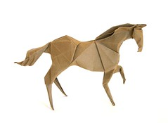 Horse (folding~well) Tags: horse paper origami folding