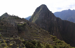 Lower City View (Calsidyrose) Tags: trip travel peru inca ancient ruins wanderlust journey sacred machupicchu pilgrimage perutraveljourneytriptouringcuscoandesinca