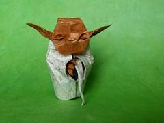 Yoda, de Fumiaki Kawahata. (ebesan2000) Tags: origami kawahata fumiaki yodaorigami