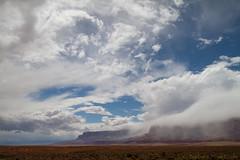 Vermillion Cliffs Storm (Squirrel Girl cbk) Tags: arizona sky storm rain clouds violent vermillioncliffs vermilioncliffs explored